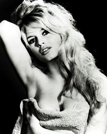 Brigitte Bardot en sus aA�os mozos