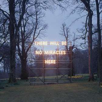 There Will Be No Miracles Here, Nathan Coley